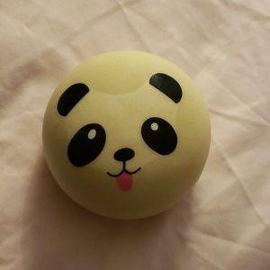 Panda bun squishy